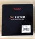 Filter Sigma 86mm