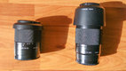 Sony DT 18-70mm a 75-300mm