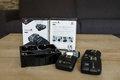 Odpalovace Quadralite Navigator X pre Canon set 1+3 (jeden vysielač + tri prijímače)