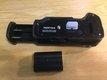 grip pentax k10/k20d+bateria