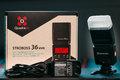 Predám systémový blesk Quadralite Stroboss 36evo F TTL pre Fujifilm
