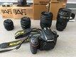 Nikon D750 s objektívmi Nikkor