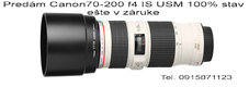 Canon 70-200f4 L IS USM