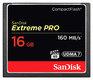 Pamäťová karta SANDISK Extreme PRO CF 16 GB