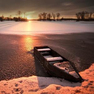 zima rybníková
