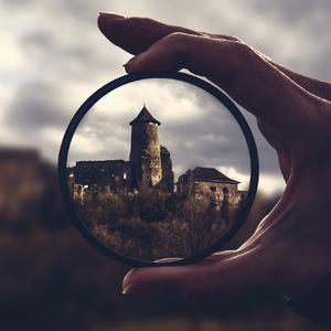 Hrad Ľubovňa cez filter