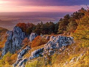 jeseň na skalách
