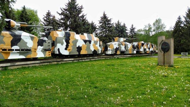 Pancierový vlak