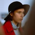 Slečna v klobúku