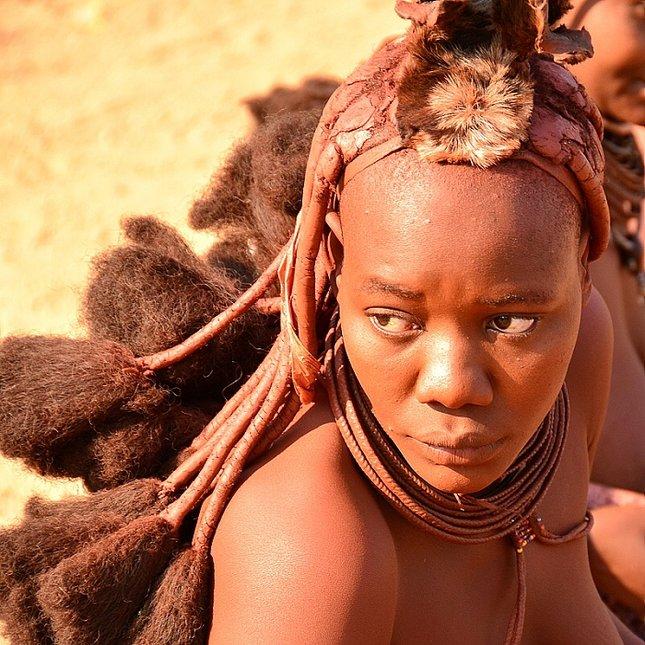 Žena kmene Himba