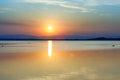 Západ slnka nad Šíravou
