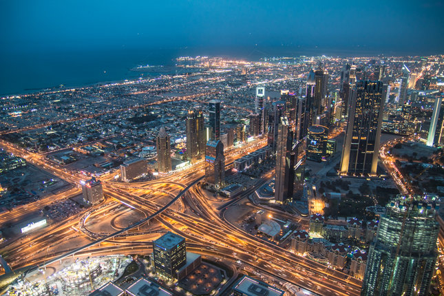 Dubai rooftop