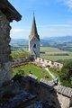 Výhľad zo zámku Hochosterwitz