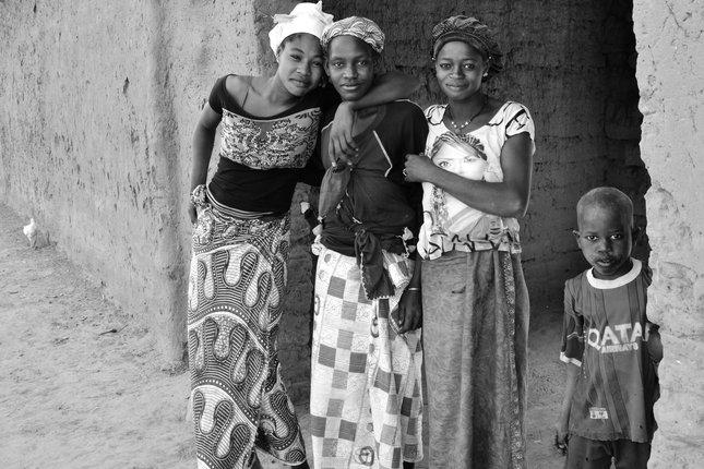 Rodinka z vesnice