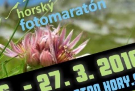Horský fotomaratón 2016 - cyklus jar