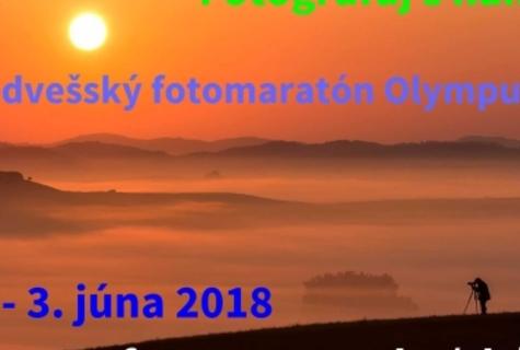 Medvešský fotomaratón - 1.-3. júna 2018