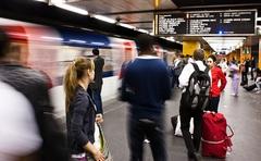 metro na Châtelet-les-Halles