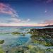More, maják, západ