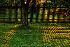 za plotom