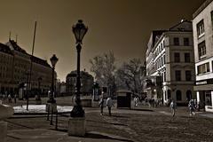 jarné mesto