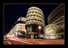 Eurovea - nocna fotka