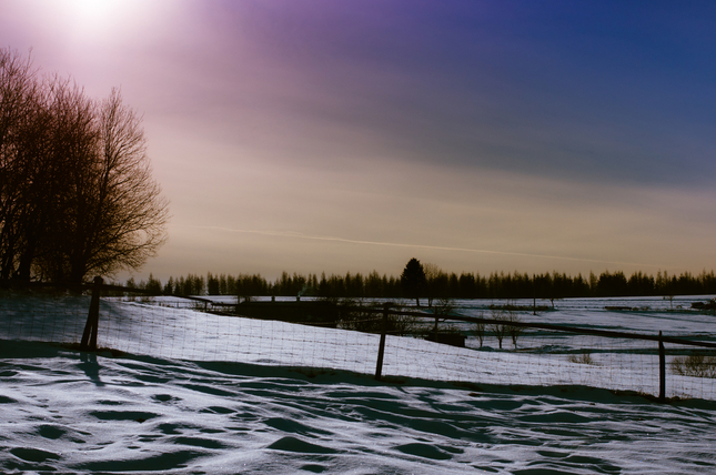 zimná krajina 1
