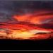 Dramatický západ slnka