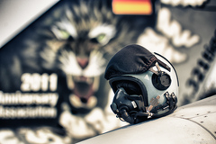 fighters helmet