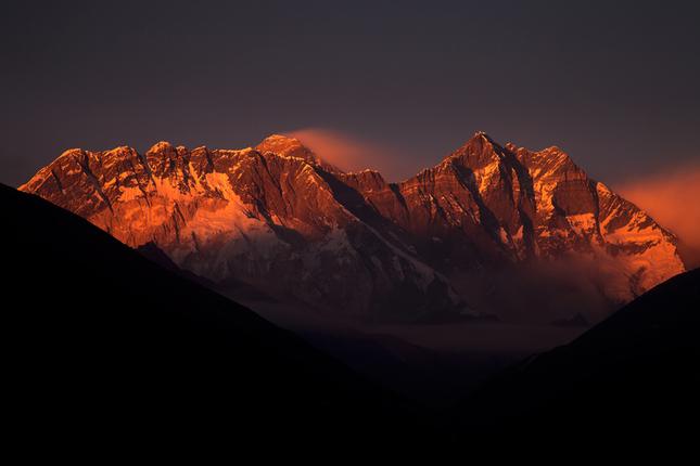 Pozdrav z pod Everestu
