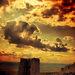 Ohnivé mraky nad spišským hradom