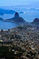 Rio de Janeiro pohľad z vrchu