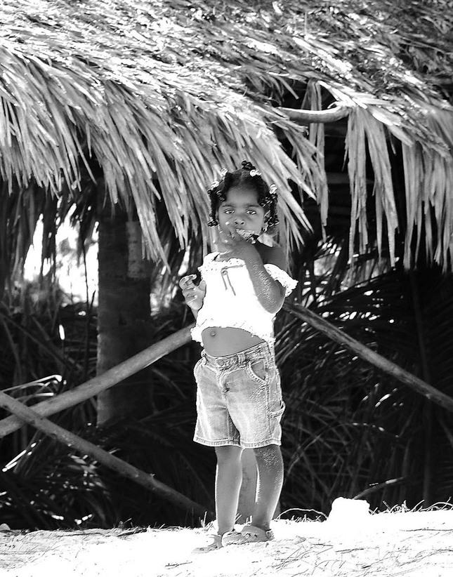 dievčatko z Dominikánskej