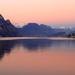 Jazero a hory
