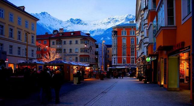 Vianoce v Innsbrucku