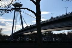 Zima pri našom moste