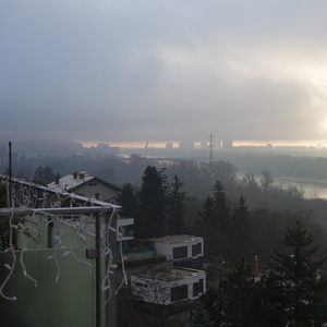 usvit-rano nad DUNAJOM