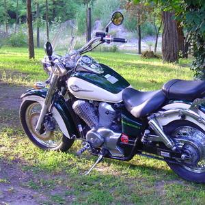 Honda v zahrade Szeged