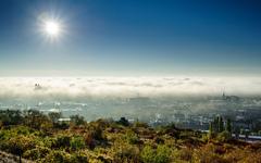 Bratislava v hmle
