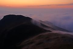 Podvečer na hrebeni