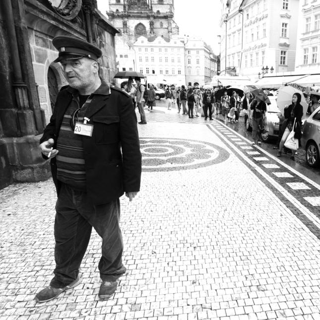 Pod pražským orlojom
