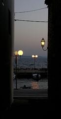 Chorvátsko v podvečer