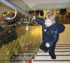 Behať po schodoch je super !