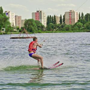 Ako v lete na lyžiach