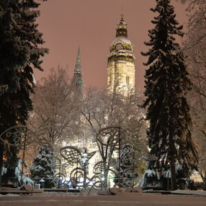 prvý tohtoročný sneh