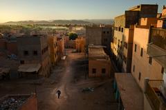Lesk a bieda Maroka