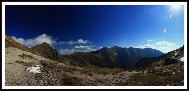 Západné Tatry - Panoráma
