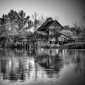 Kolový vodný mlyn