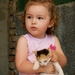 Dámička s mačiatkom