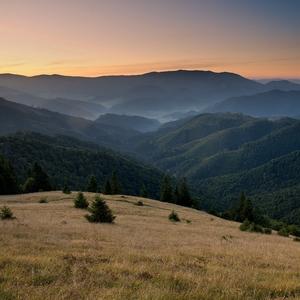Pohľad do doliny.