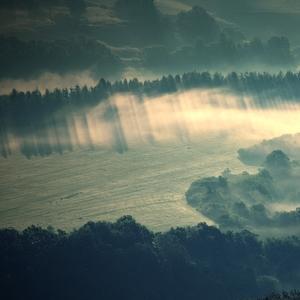 Ráno v dolinách.